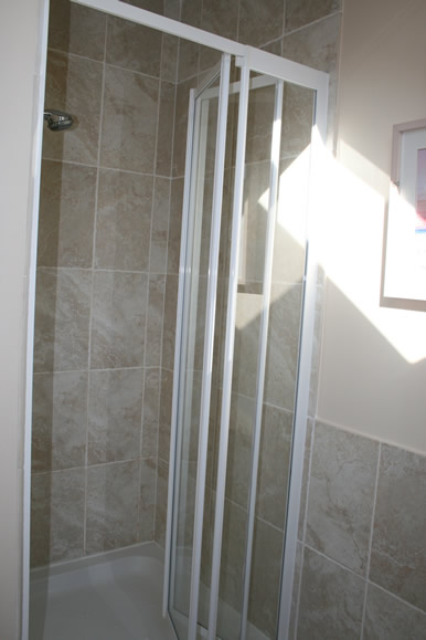 Upstairs Shower Cubical